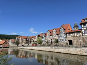 バート・ゾーデンアレンドルフ(Bad Sooden-Allendorf)に寄り道をしながら、知る人ぞ知る美しい木組みの街ハン・ミュンデン(Hann Münden)に行ってきた!